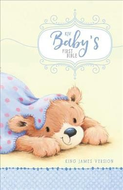 Holy Bible : KJV Baby's First Bible, Blue (Hardcover)