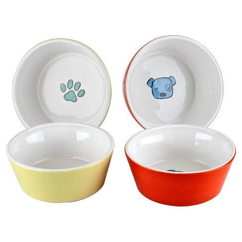 Housewares International Anne Was Here K9 Pet Bowl Set - 5.28 in. - image 1 of 1