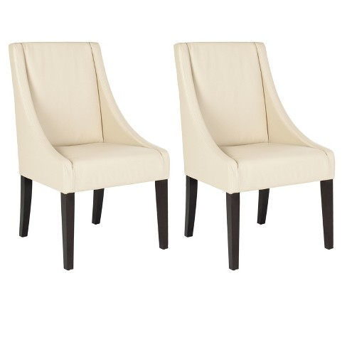 Brittania Swoop Dining Chair Wood (Set of 2) - Safavieh® - image 1 of 5