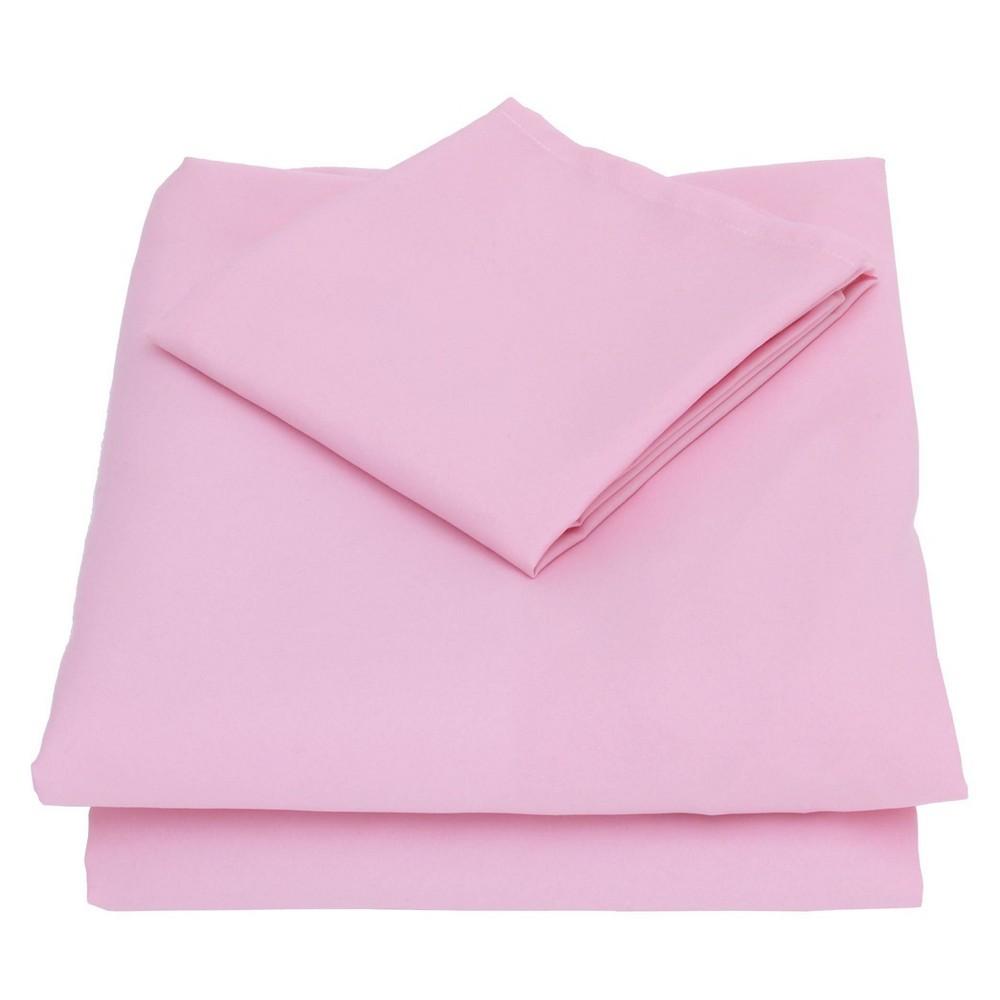 Image of Nojo 3pc Toddler Sheet Set Pink