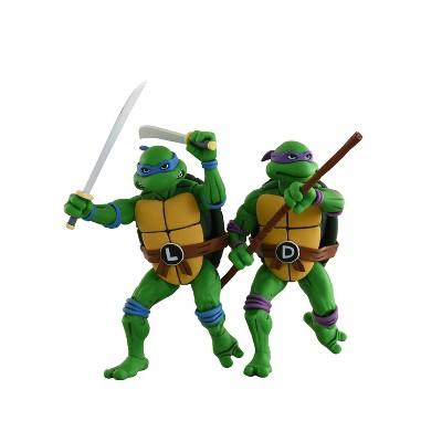 "TMNT Leonardo and Donatello 7"" Action Figure 2pk"