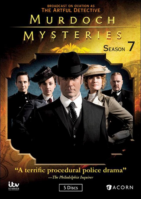 Murdoch mysteries:Season 7 (DVD) - image 1 of 1