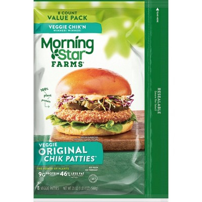 Morningstar Farms Frozen Chik'n Patties Value Pack - 20oz