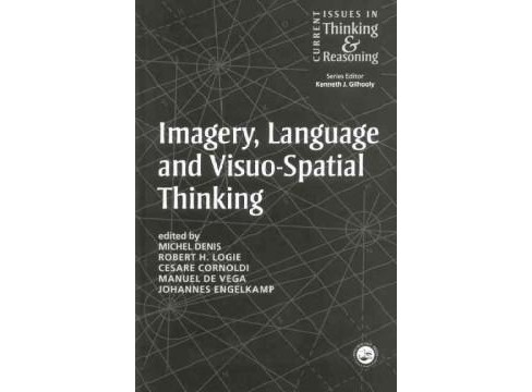 Imagery, Language and Visuo-Spatial Thinking (Reprint) (Paperback) - image 1 of 1