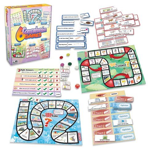 Junior Learning Comprehension Games 6ct - image 1 of 4