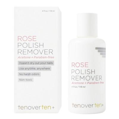 tenoverten Non-Acetone Polish Remover - 4 fl oz