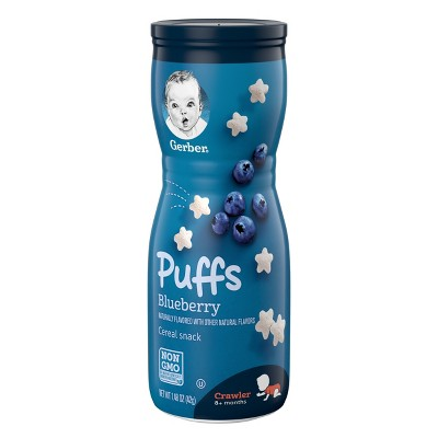 Gerber Puffs Blueberry - 1.48oz