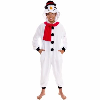 Funziez! Holiday Snowman Slim Fit Women's Novelty Union Suit