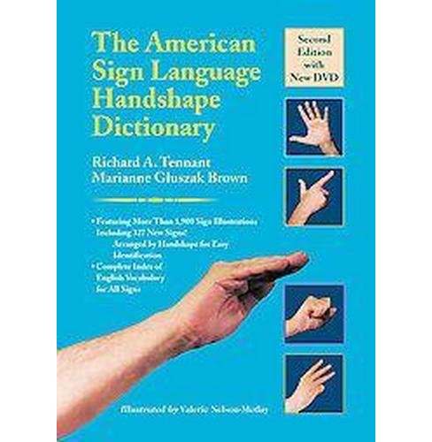 American Sign Language Handshape Dictionary (Hardcover) (Richard A. Tennant & Marianne Gluszak Brown) - image 1 of 1