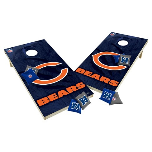 NFL Chicago Bears Wild Sports Tailgate Toss 2x4 Platinum Shield - image 1 of 1