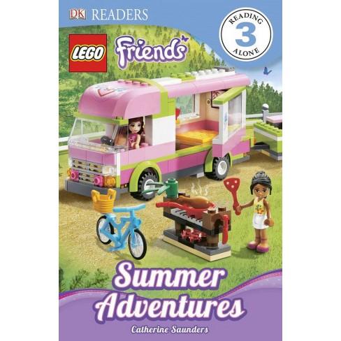 DK Readers L3: Lego Friends: Summer Adventures - (DK Readers: Level 2) by  Catherine Saunders - image 1 of 1