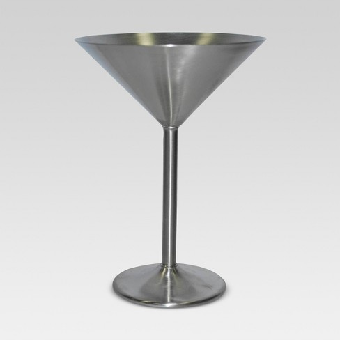 d17a78b128a Stainless Steel Martini Glass 8oz - Threshold™   Target