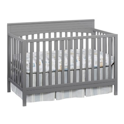 Oxford Baby Harper 4-in-1 Convertible Crib Gray