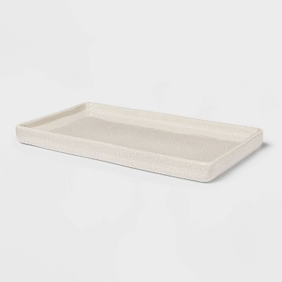 Vanity Tray Crackle Cream - Threshold™