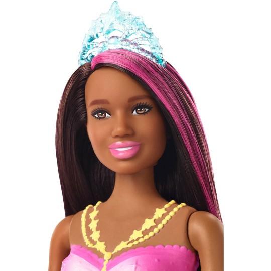 Barbie Dreamtopia Sparkle Lights Mermaid - Brunette image number null