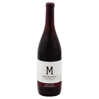 MacMurray Pinot Noir Red Wine - 750ml Bottle