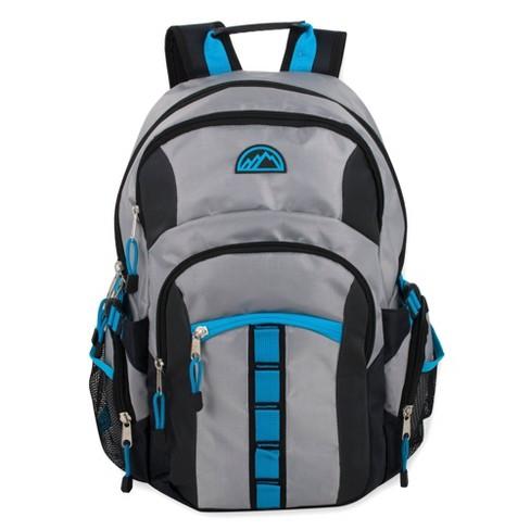 "Mountain Edge 19"" Deluxe Carrier Backpack - Light Gray - image 1 of 4"