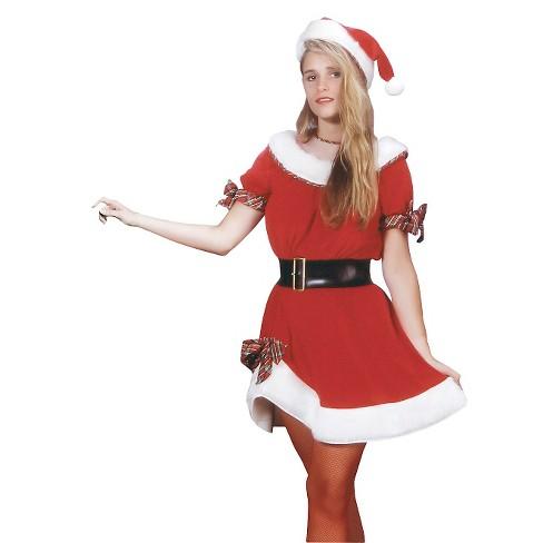Women's Ms. Santa Costume One Size - image 1 of 1