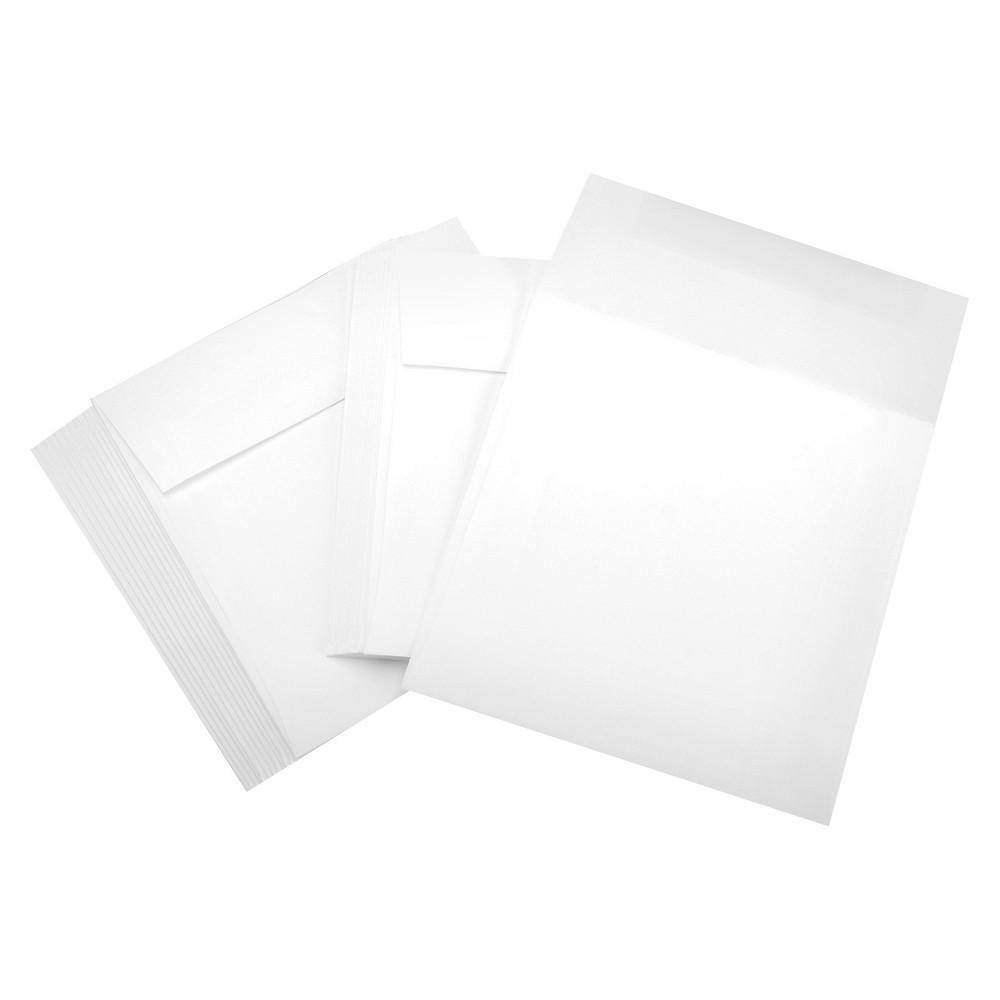 """Image of """"Leader Envelopes - White (6""""""""x6"""""""")"""""""