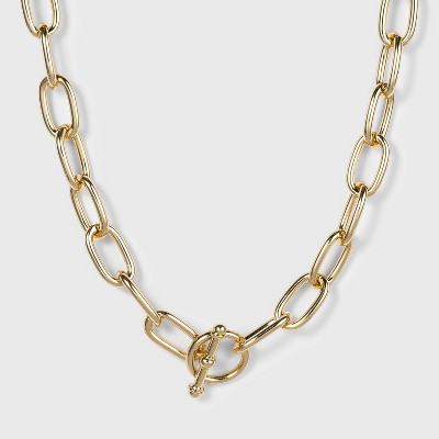 SUGARFIX by BaubleBar Gold Link Chain Necklace - Gold