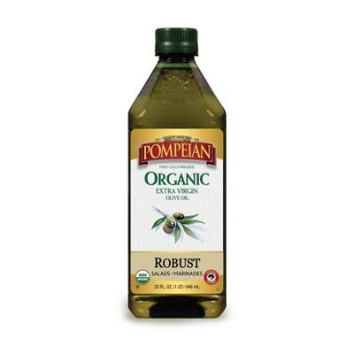 Pompeian Organic Robust Extra Virgin Olive Oil - 32oz