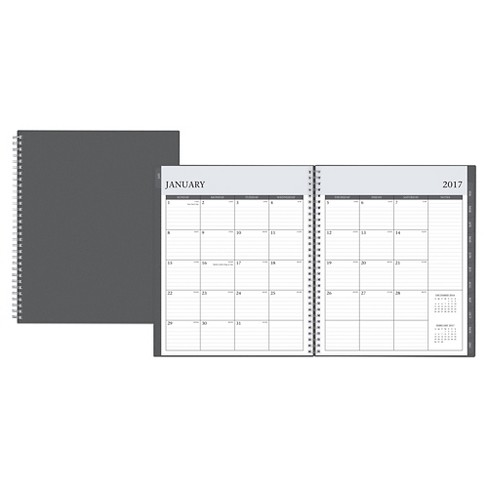 "2017 Enterprise Monthly Planner (8""x10"") - Blue Sky - image 1 of 8"