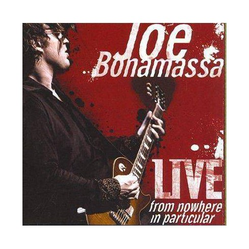 Joe Bonamassa - Live From Nowhere In Particular (CD) - image 1 of 1