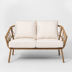 Britanna Patio Loveseat Natural - Opalhouse™