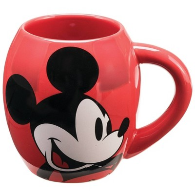Disney Mickey Mouse 18oz Ceramic Oval Mug