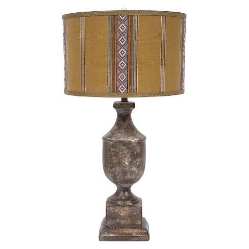 Ceramic Table Lamp Brown 31 Target