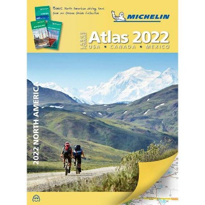 Michelin North America Large Format Road Atlas 2022 - 11th Edition (Paperback)