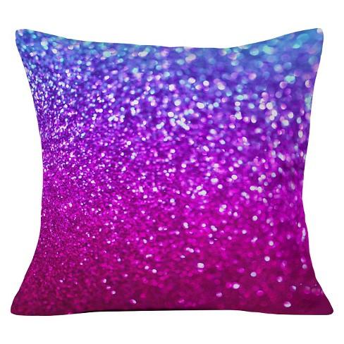 Purple Lisa Argyropoulos New Galaxy Throw Pillow 20 X20 Deny Designs
