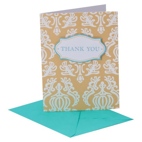 Thank You Card Pack 8 ct CARLTON Thank You - image 1 of 1