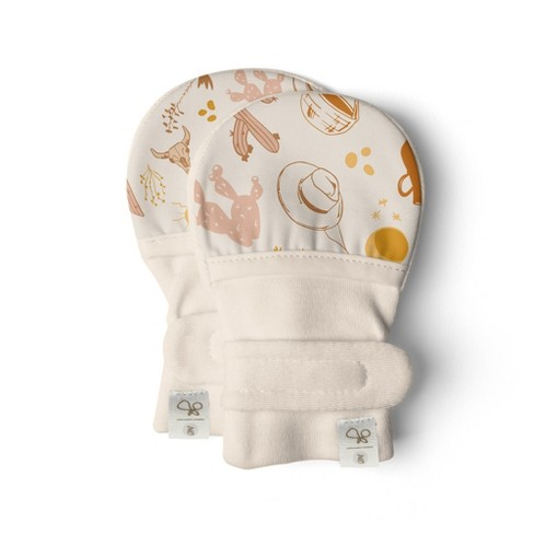 Goumikids Bamboo Organic Cotton Stay-On Mitts - image 1 of 4