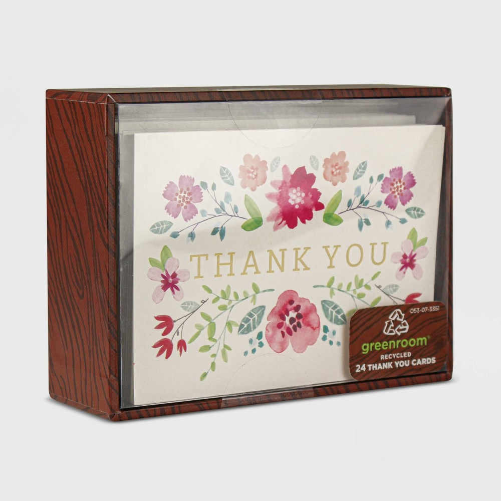 "Image of ""24ct """"Thank You"""" Ditsy Floral"""