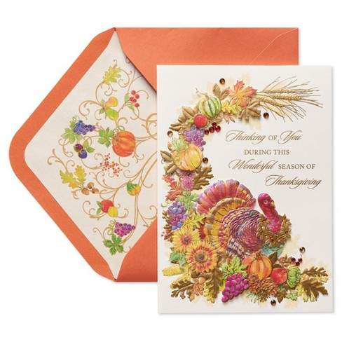 Close At Heart Harvest Thanksgiving Greeting Card Papyrus