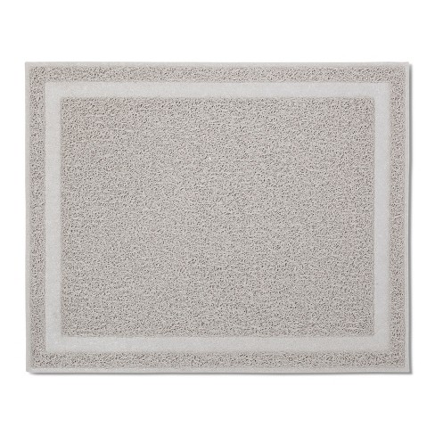 Drizzled Cat Litter Mat - Gray - Boots & Barkley™ - image 1 of 4