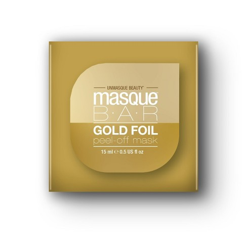 Masque Bar Foil Peel Off Mask Gold - 1ct - image 1 of 1