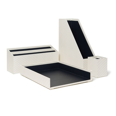 Desk Organization Set Casual Stripes - U Brands - image 1 of 4