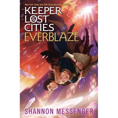 Everblaze - (Keeper of the Lost Cities) by  Shannon Messenger (Hardcover) - image 1 of 1