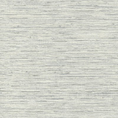 RoomMates Grasscloth Peel & Stick Wallpaper Gray
