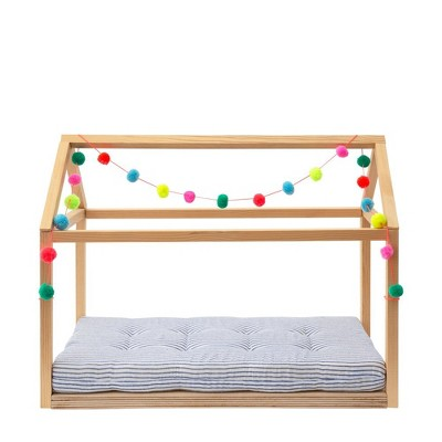 Meri Meri - Wooden Bed Dolly Accessory - Doll Furniture - 1ct