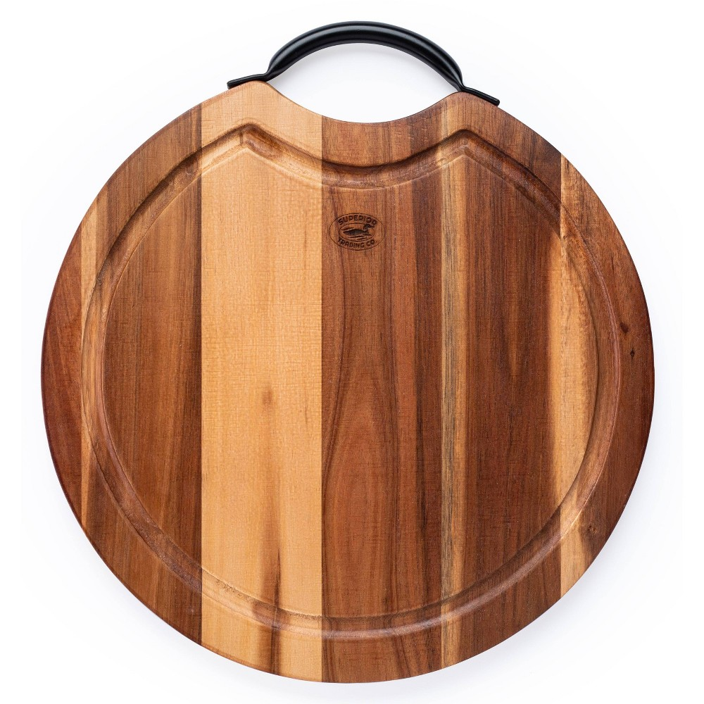 Image of BBQ Cutting Board with Steel Handle - Superior Trading Co.