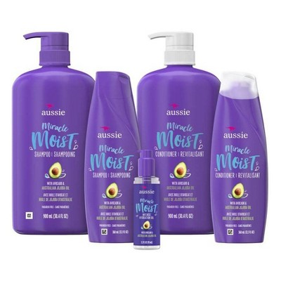 Aussie Miracle Moist Hair Care Collection
