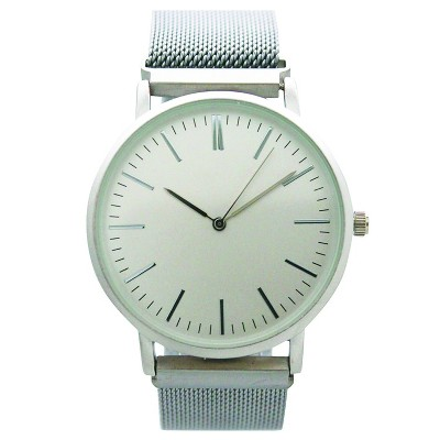 Olivia Pratt Mesh Fashion Watch With Magnetic Closure