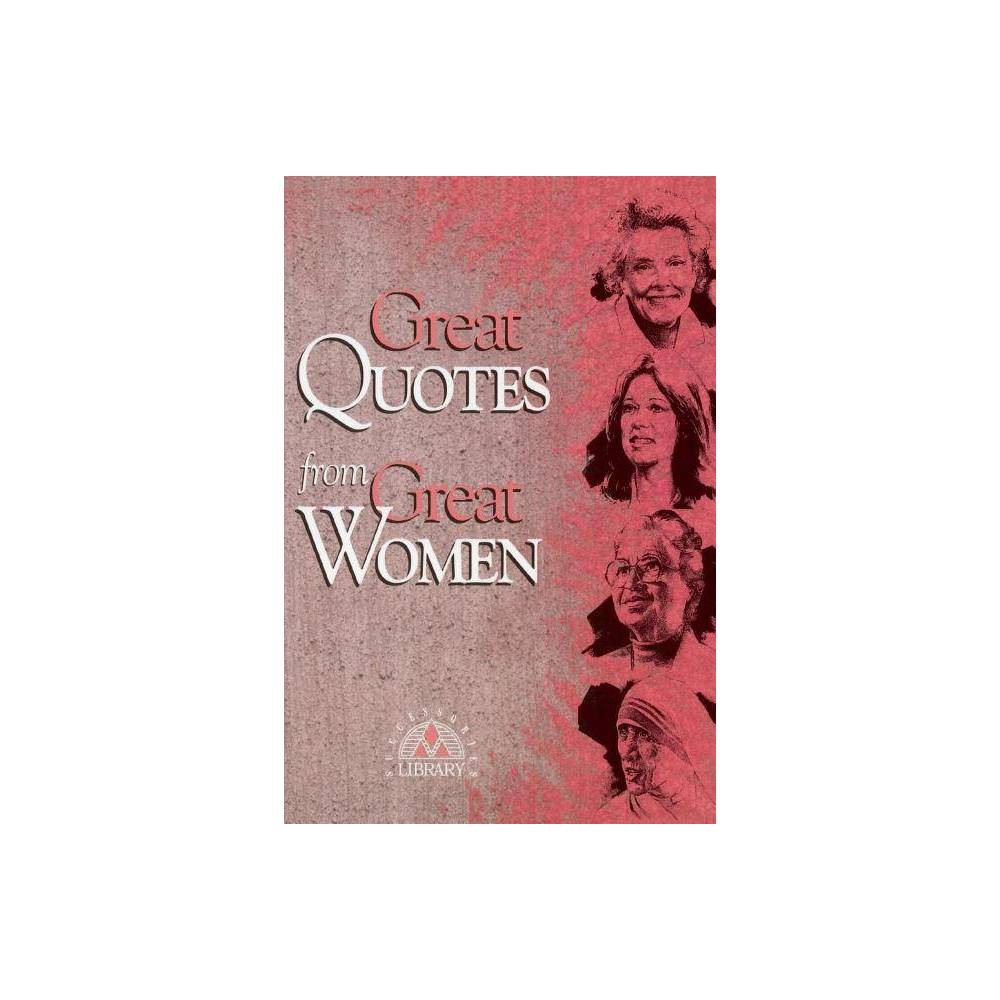 Great Quotes From Great Women By Successories Paperback