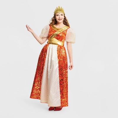 Adult Imperial Queen Halloween Costume Dress with Headpiece - Hyde & EEK! Boutique™