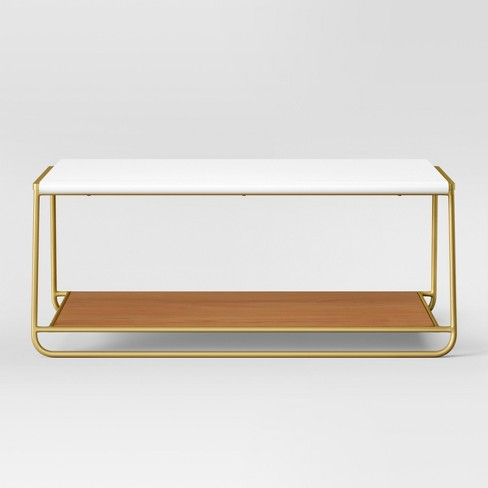 Sayer Coffee Table White - Project 62™ - image 1 of 7