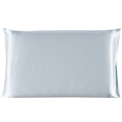 100% Mulberry Silk Fabric Pillow Case Silver Gray - PiccoCasa