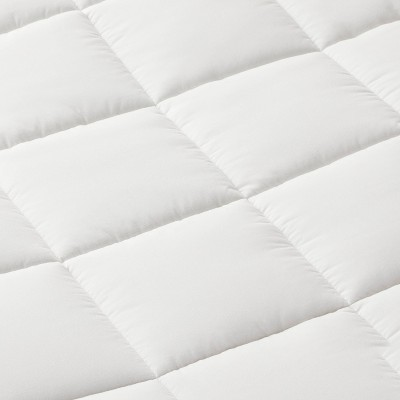 Machine Washable Quilted Pattern Mattress Pad - Made By Design™ : Target